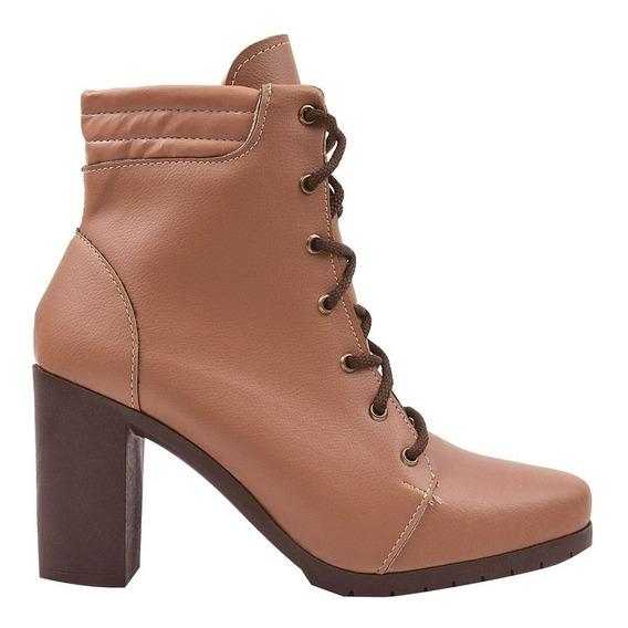 Bota Coturno Sapato Feminino Chiquiteira Chiqui/4097