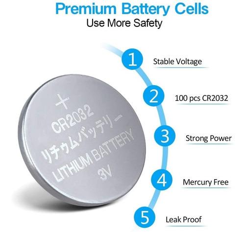 Bateria De Lithium Cr2032 Pila De Lithium Cr2032 3v