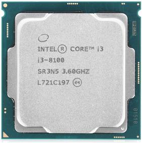 Processador Intel Core I3-8100 3.6ghz, Cache 6mb Lga 1151
