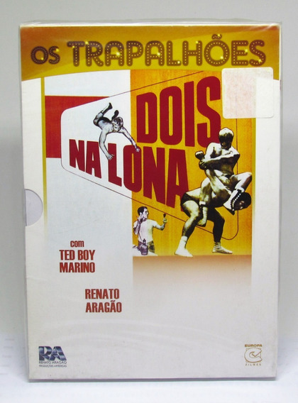 Dvd Os Trapalhões Dois Na Lona - Renato Aragão - Lacrado