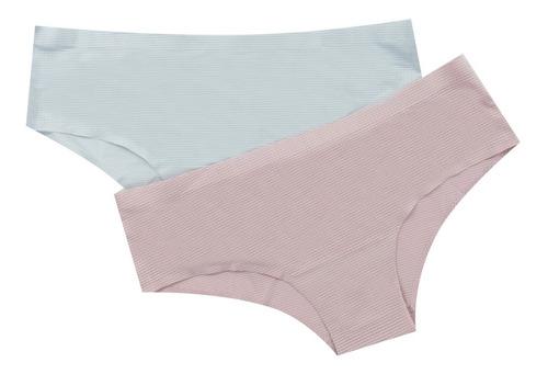 Pack De Dos Panties Corte Láser Lili Pink