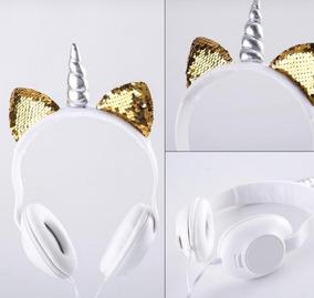 Headphone Unicórnio