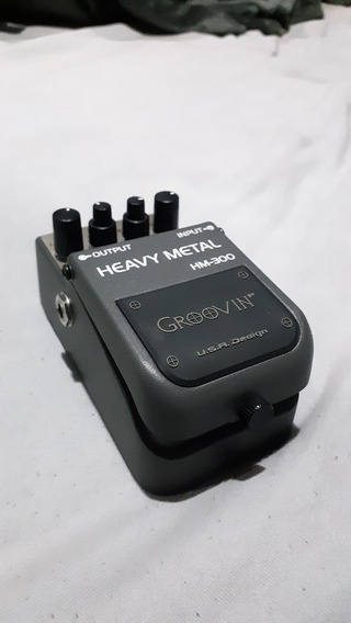 Pedal Groovin Distortion Hm-300