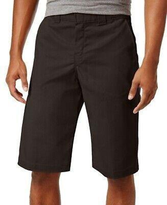 Dickies Hombres Shorts Marrón Tamaño 30 Flat Front Rela-1323