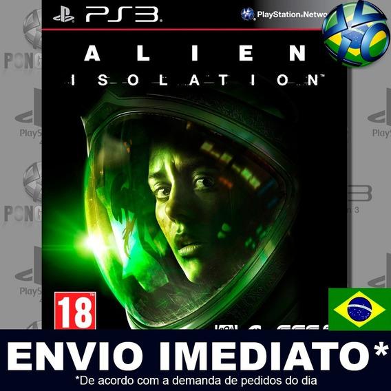 Alien Isolation Ps3 Psn Dublado Português Pt Br Jogo Play 3