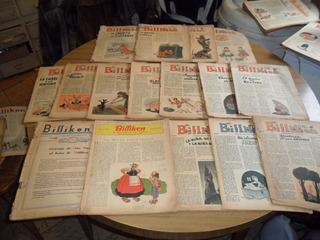 Lote¡ De 37 Revistas Billiken Sin Tapa De Portada Coleccion¡
