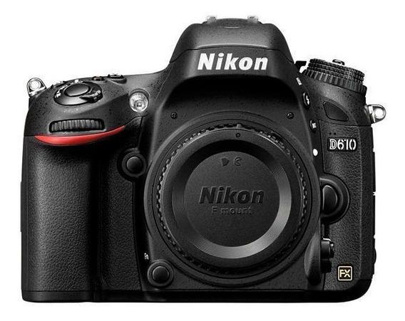 Câmera Nikon D610 Dslr (corpo)