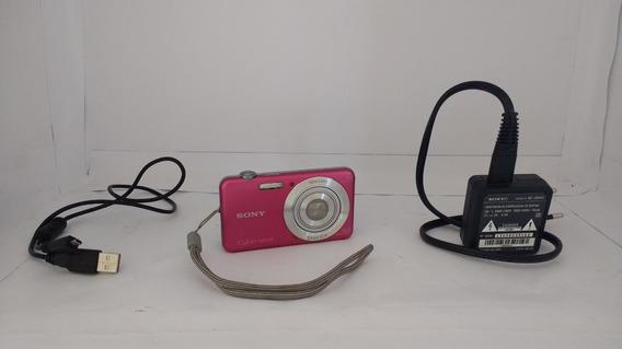 Câmera Digital Cyber-shot Sony Rosa Dsc-w710