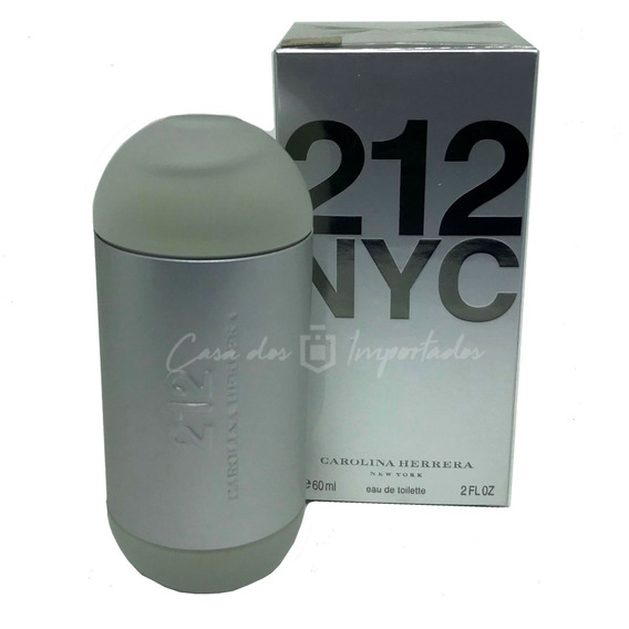 Carolina Herrera 212 60ml Feminino | Original + Amostra