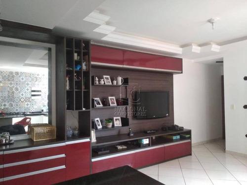 Cobertura Com 3 Dormitórios À Venda, 146 M² Por R$ 635.000 - Vila Assunção - Santo André/sp - Co4445