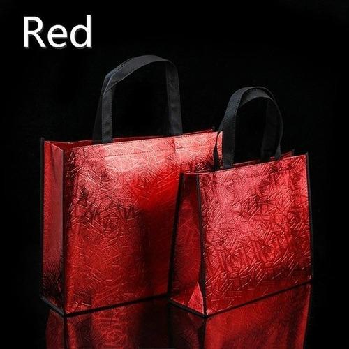 Imagen 1 de 5 de Bolsa Chica De Tela Impermeable Roja