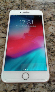 iPhone 8 Plus 256gb Dourado Garantia Até 03/2020