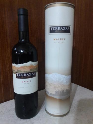 Vino Terrazas De Los Andes Cosecha Tardia Vinos Tinto