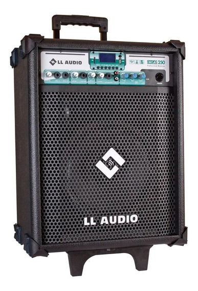 Caixa Amplificada Multiuso Ll Audio Stone 250 C/bateria