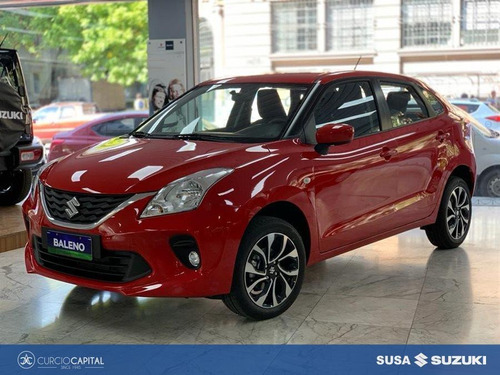 Suzuki Baleno Gl 2021 Rojo 0km
