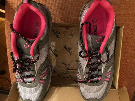 Zapatillas Mujer Spalding Nuevas. Talle 40