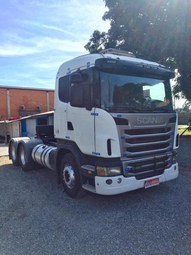 Imagem 1 de 15 de Scania G 420 6x4 2010 Branco