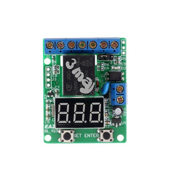 Placa Controladora Sistema Solar Bateria Automático Rele M1