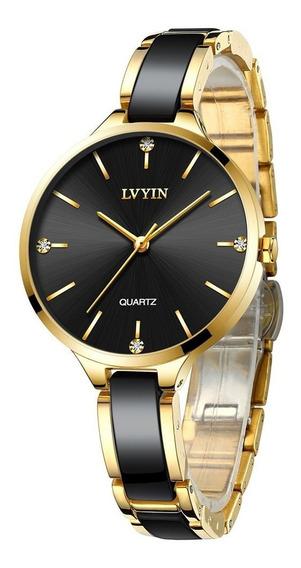 Lvyin Relógio De Cerâmica À Prova D