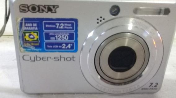 Maquina Fotográfica Sony Ciber Shot 7.2 Mega Pixels Funciona