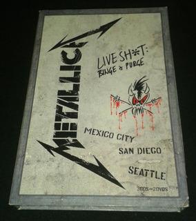 Box Set Metallica 3cds/2dvds Live
