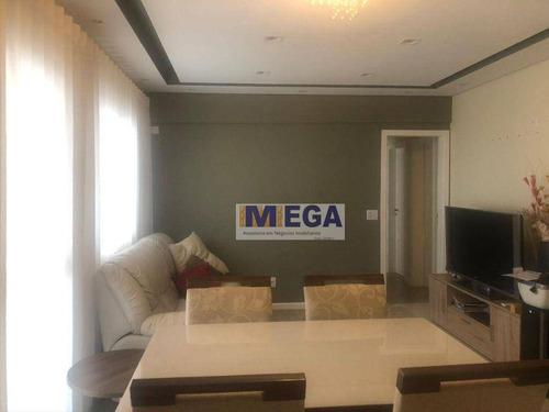 Apartamento Com 3 Dormitórios À Venda, 83 M² Por R$ 750.000 - Mansões Santo Antônio - Campinas/sp - Ap5071
