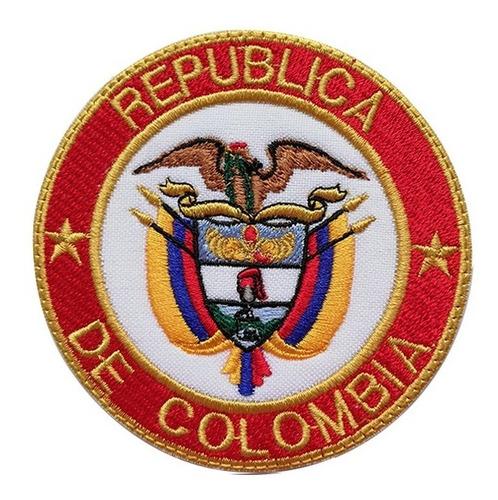 Escudo Colombia Bordado 8.5cms