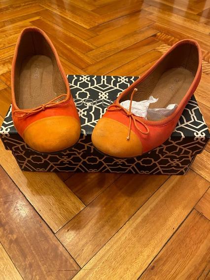 Zapatos Paruolo Talle 38 Tipo Chatitas Modelo Nobuk