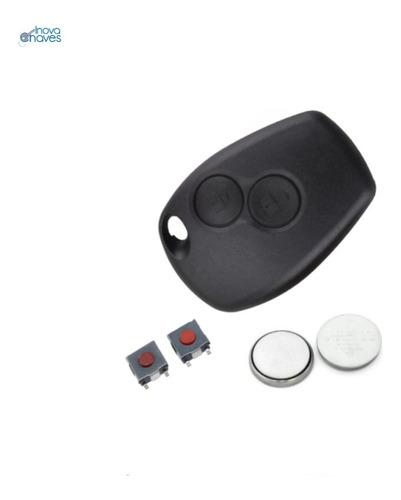 Imagem 1 de 4 de Capa Frontal Logan Sandero Duster Clio C/bateria E Botões