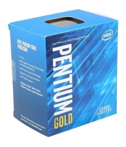 Procesador Intel Pentium Gold G5400 8va. Gen., 2 Nucleo 3.7