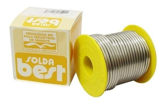 Solda Best Carretel Amarelo 2,4mm 10 A 24 500 Gramas