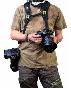 Alça Dupla De Ombro Caden Nikon Canon