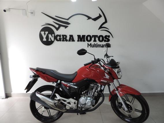 Honda Cg 160 Fan 2018 Flex C/ 360 Km Nova