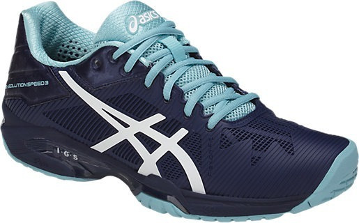 Tênis Asics Gel Solution Speed 3 Preto Alta Performance