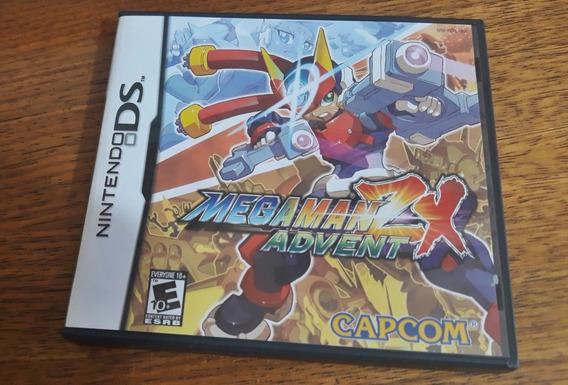 Mega Man Zx Advent Original Nintendo Ds Usa Completo