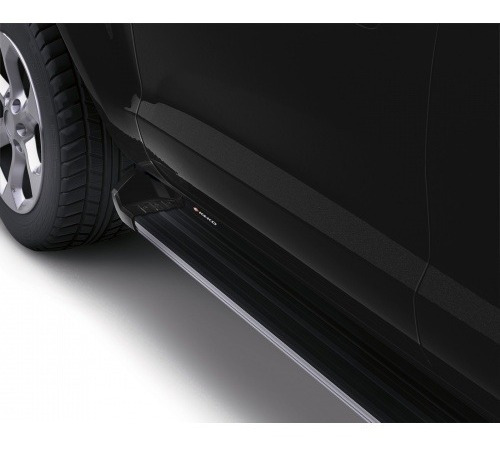 Estribos Aluminio Negro Nissan Np300 - Doble Cabina - Keko