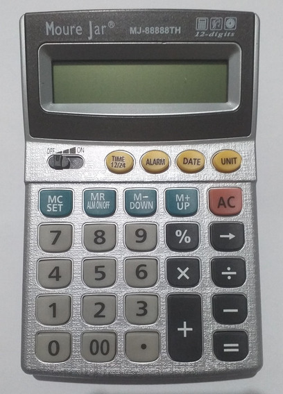 Calculadora De Mesa 12 Digitos Mj