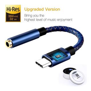 Dac Usb-c A Plug 3.5mm - Realtek Hi-res 384khz 32bits