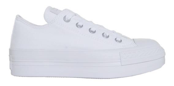 Converse Chuck Taylor All Star Platform Monochrome Ox White