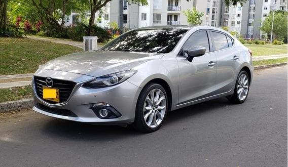 Mazda 3 Grand Touring 2015 Aluminio Metálico
