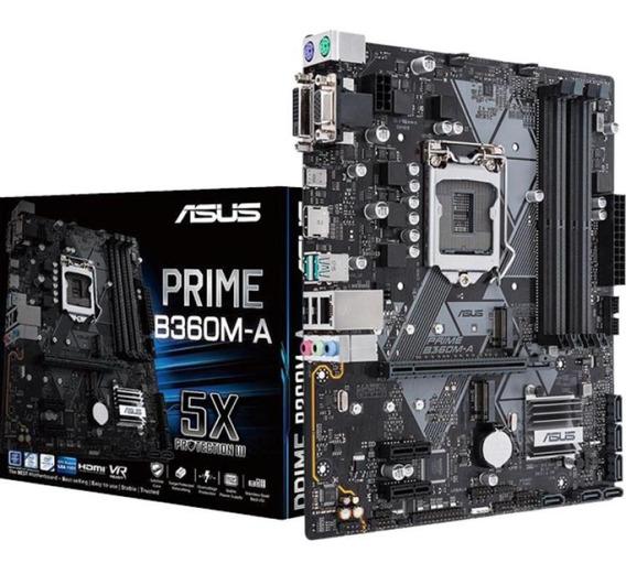 Mother Asus Prime B360m-a Intel Lga1151 Tienda Asus Cuotas