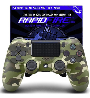Control Ps4 Dualshok 4 Tipo Scuf + Rapid Fire + Monster Grip
