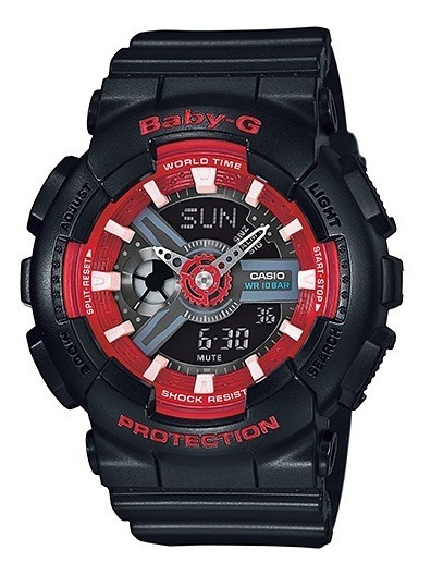 Relógio Casio Baby-g Feminino Anadigi Ba-110sn-1adr
