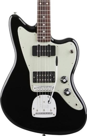Guitarra Eléctrica Fender Jazzmaster Blacktop Hs