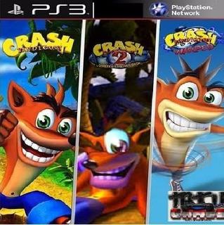 Crash Bandicoot Trilogy 1, 2, 3 Ps3 Digital 3en1