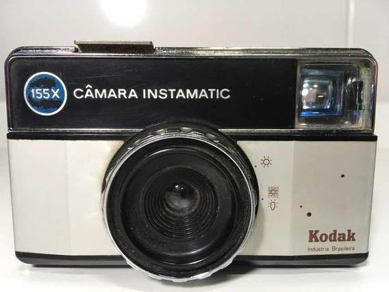 Raridade Câmera Kodak Instamatic 155x Bem Conversada