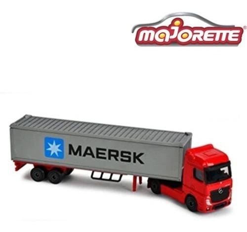 Camión De Carga - Escala 1/87 Majorette Die - Cast