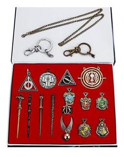 Emblema Hogwarts Harry Potter Regalos Juego Mini Varita Y Ca