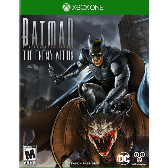 Batman The Enemy Within - Xbox One - Mídia Física - Lacrado