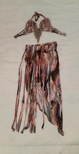 Vestido De Danzas Arabes / Salsa
